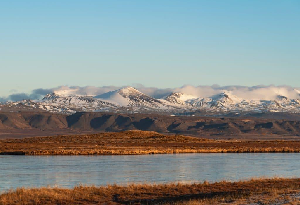 Snaesfellsnes Glacier in Iceland