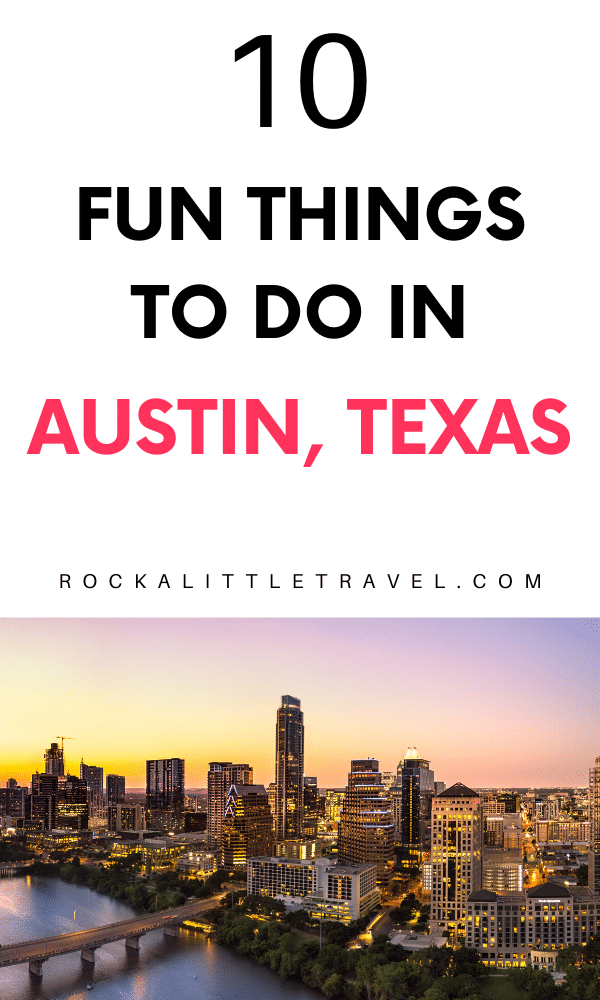 One day in Austin Pinterest Pin