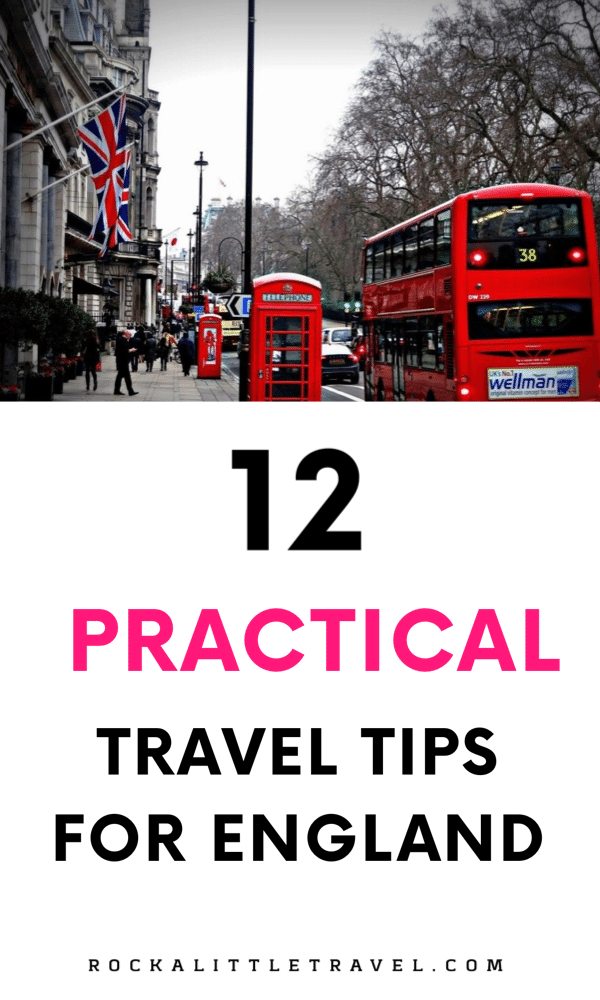 Travel tips for England