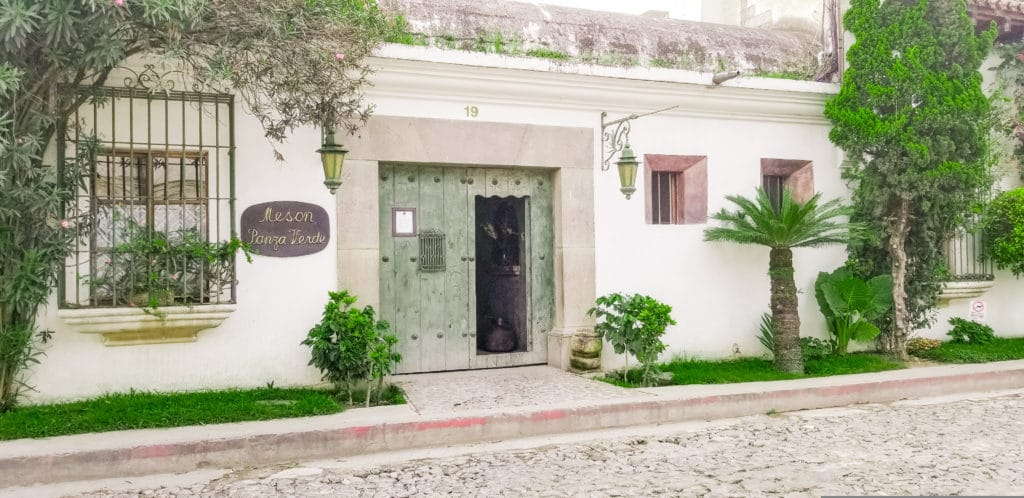 How to plan an international trip - Choose your accomodations - Meson Panza Verde, Antigua, Guatemala