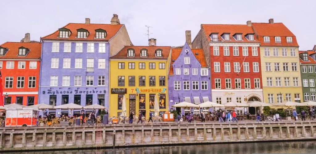 how to plan an international trip - Nyhavn, Copenhagen, Denmark