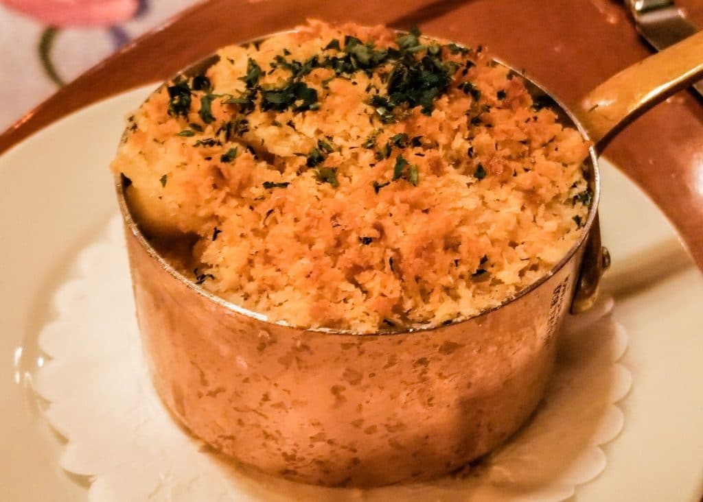 Truffle Mac and Cheese from Napa Rose