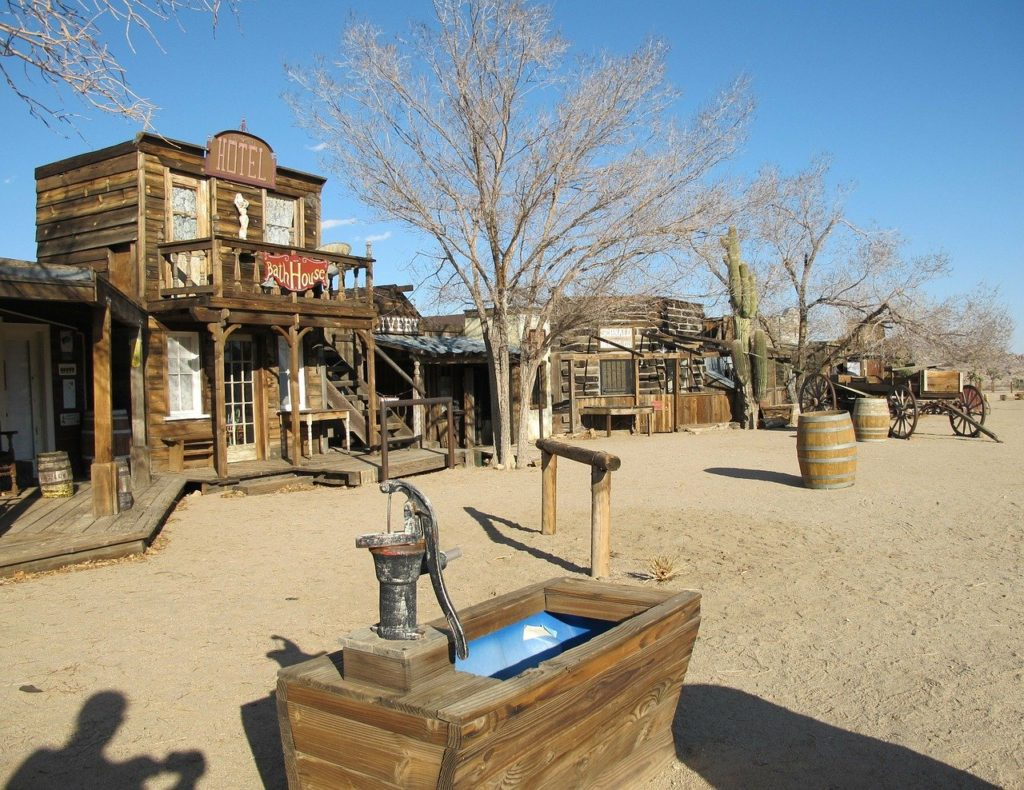 Pioneertown in California