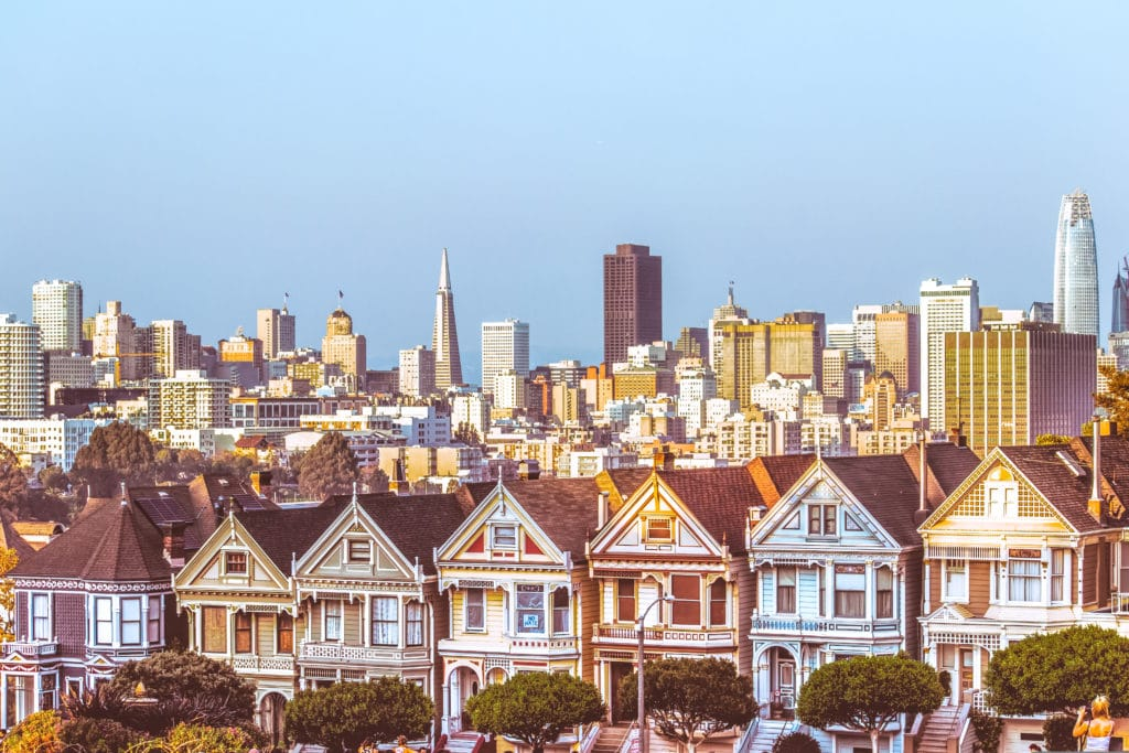 Painted Ladies, San Francisco, California