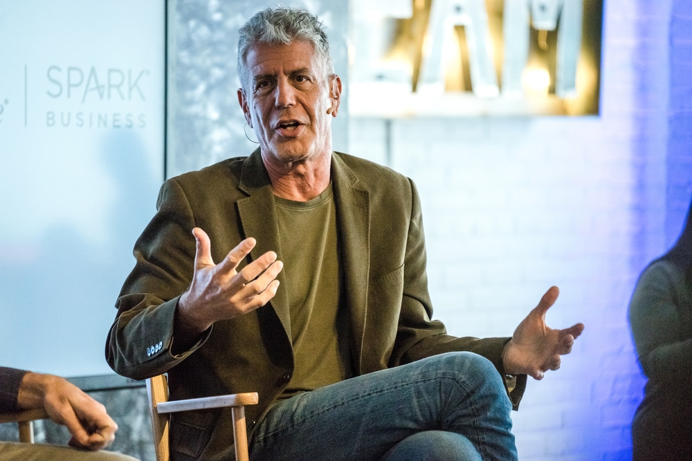 Anthony Bourdain - Solo Travel Quotes