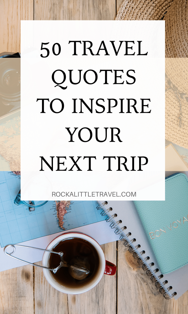 Solo Travel Quotes - Pinterest Pin