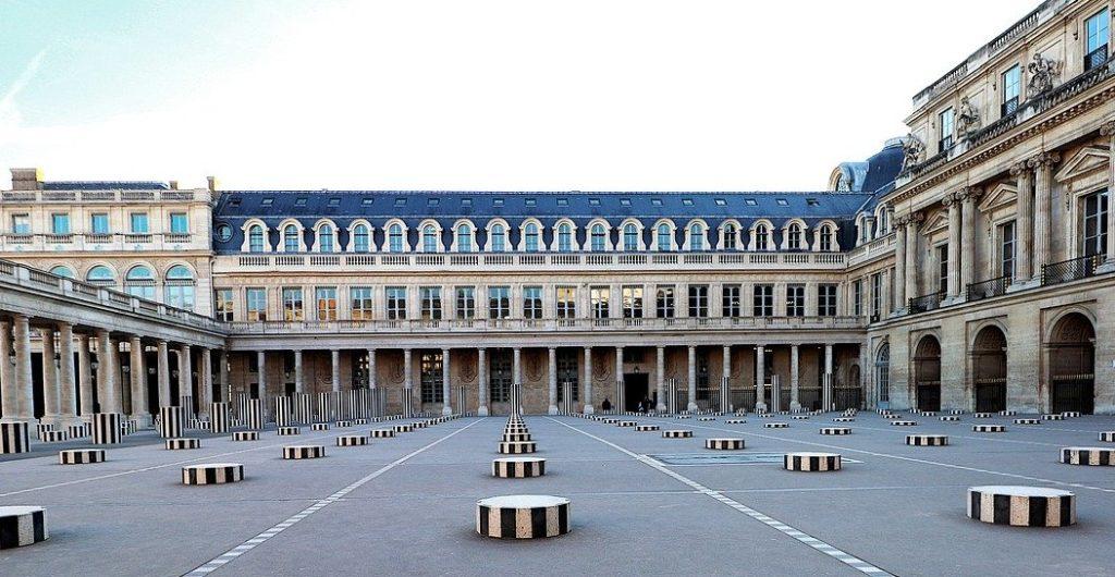 Instagram spots in Paris  - Buren Columns