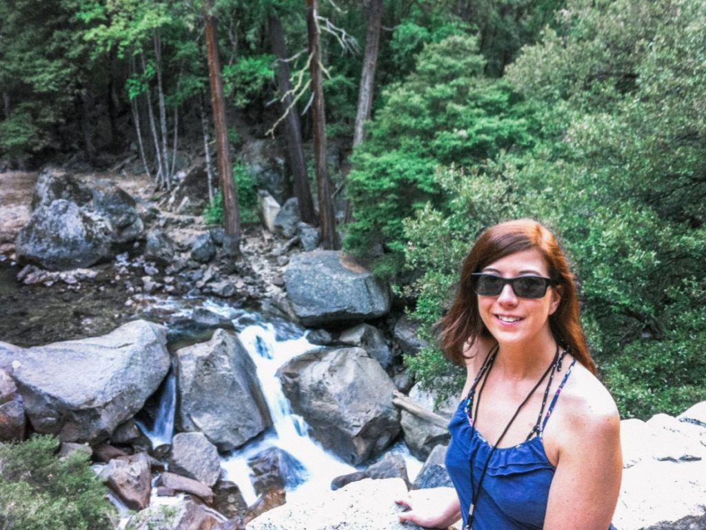 Eden on the Mist Trail to Half Dome