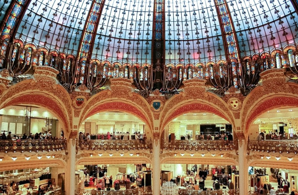Most Instagrammable places in Paris - Galeries Lafayette