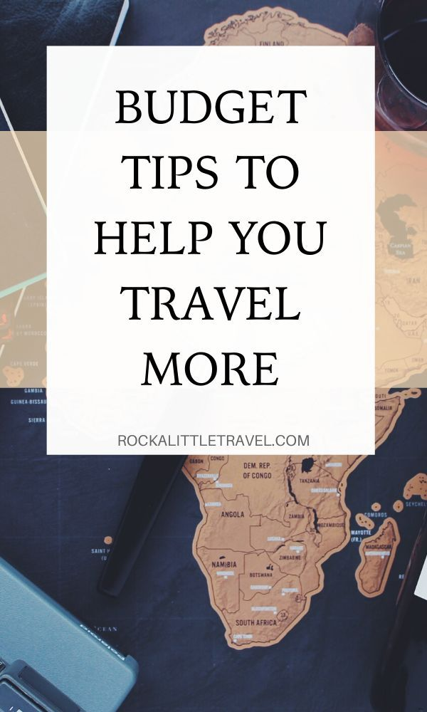 How to Afford to Travel More - Pinterest Pin