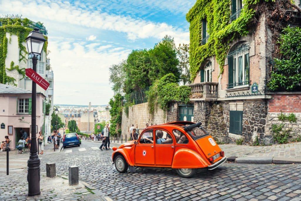 Instagrammable spots in Paris - Montmartre