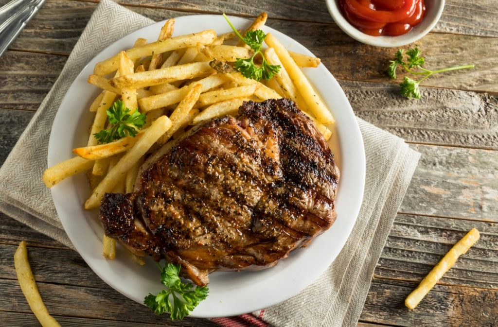 Experiences in Paris - Steak and fries