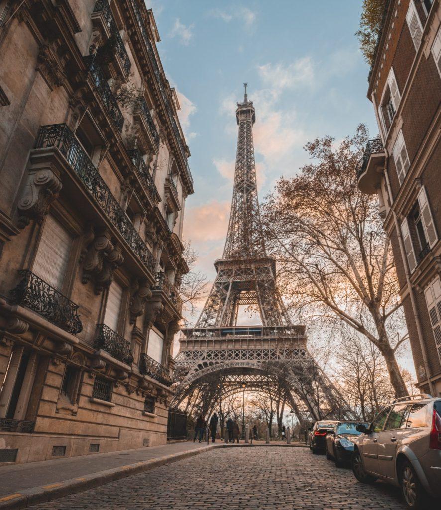 rue de l'Université in Paris - most Instagrammable places in Paris