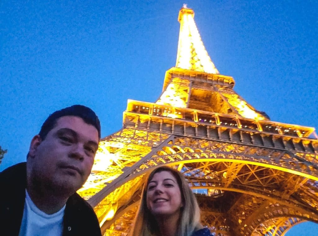 Eden and Javi in Paris - Why you shouldn't quit your job to travel the world