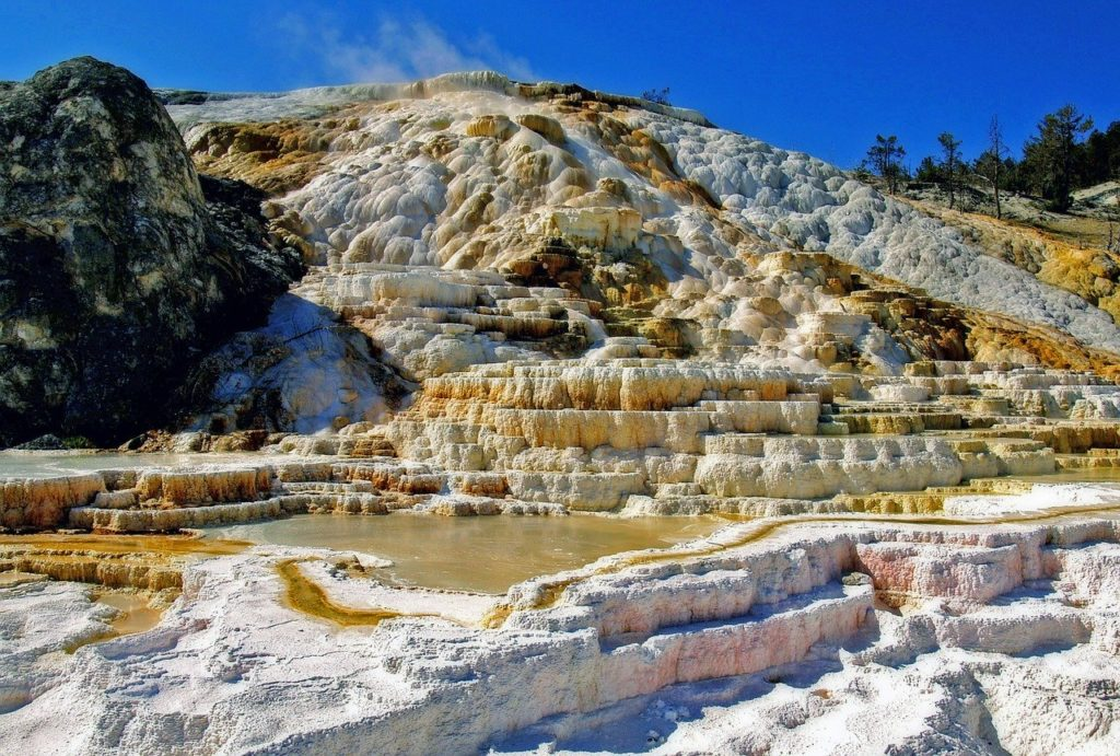 Billings to Yellowstone - Mammoth Hot Springs