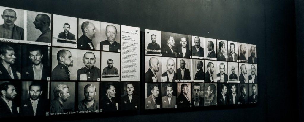 KGB Museum prisoner pictures