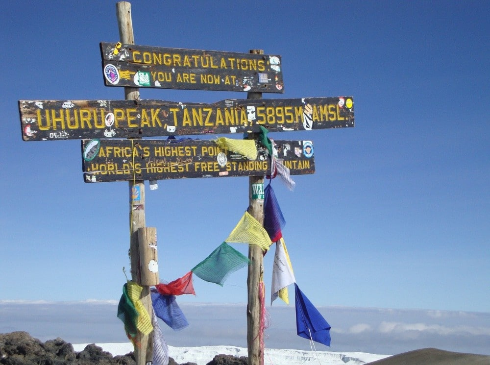 Mount Kilimanjaro - Bucket list
