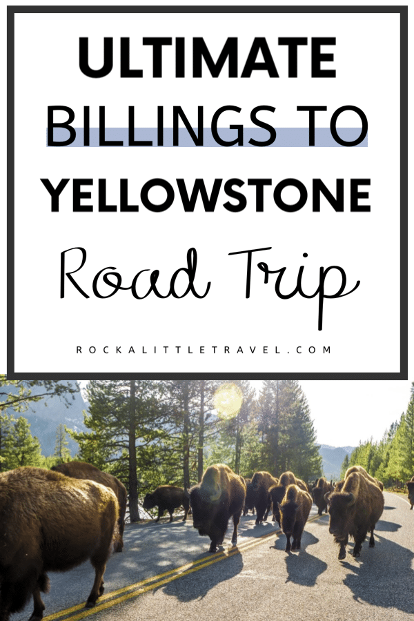 The Ultimate Billings to Yellowstone Road Trip - Pinterest Pin