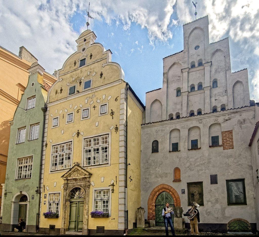 The Three Brothers Riga Latvia