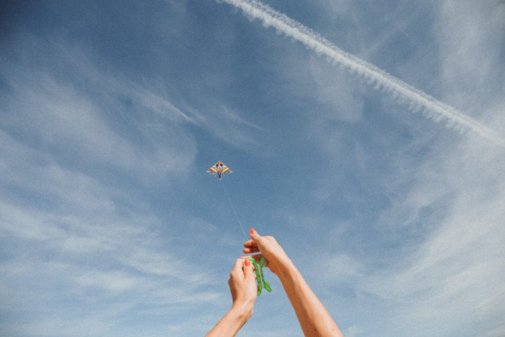 Fly a Kite at Porteau Cove