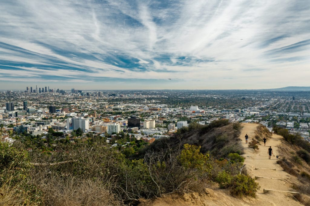 Runyon Canyon Trail in Los Angeles