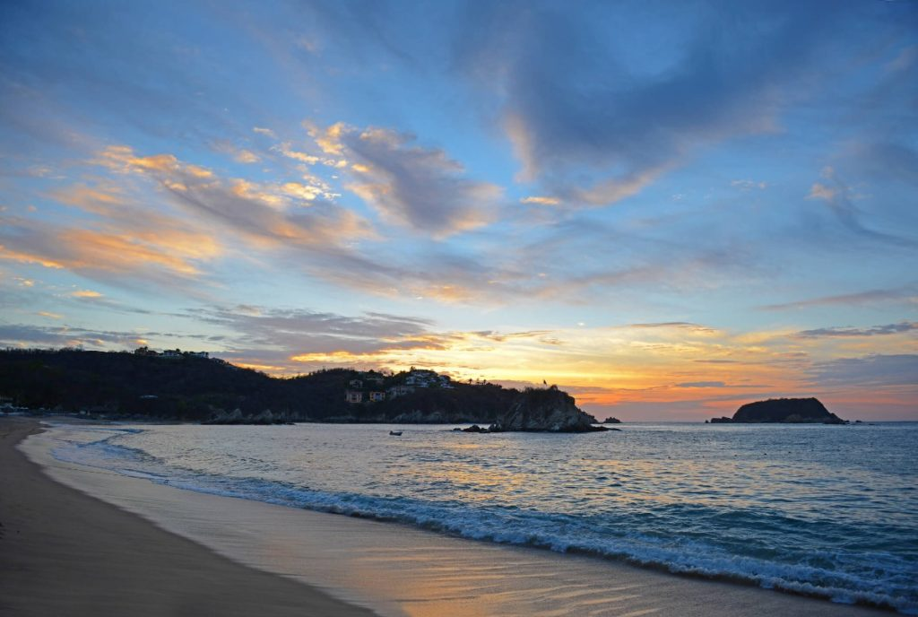 Tangolunda Bay in Huatulco