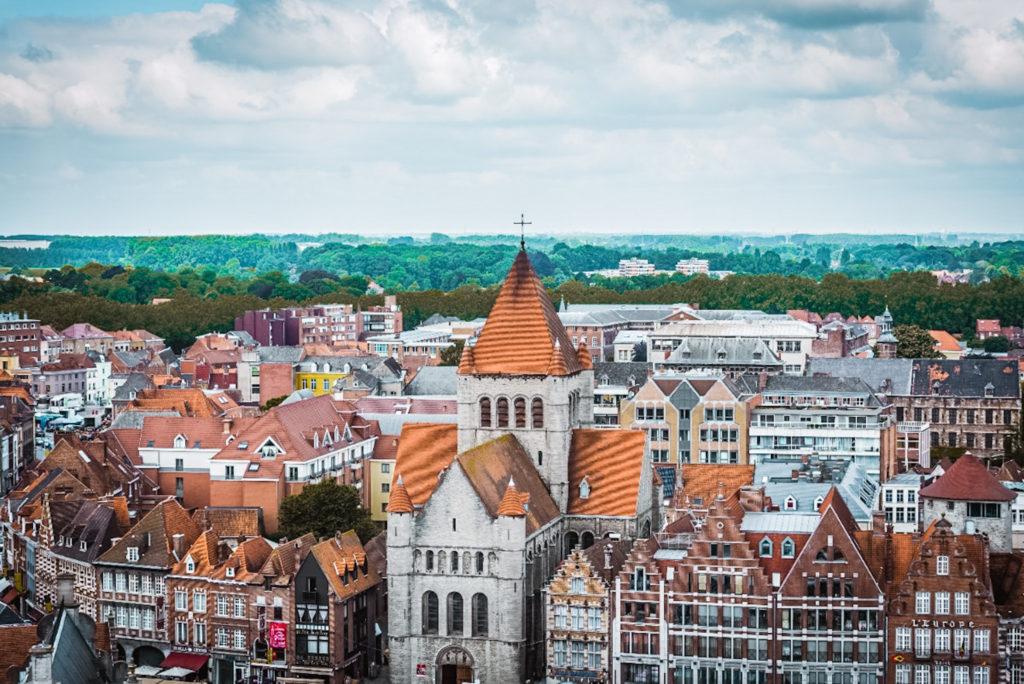Tournai, Belgium road trip