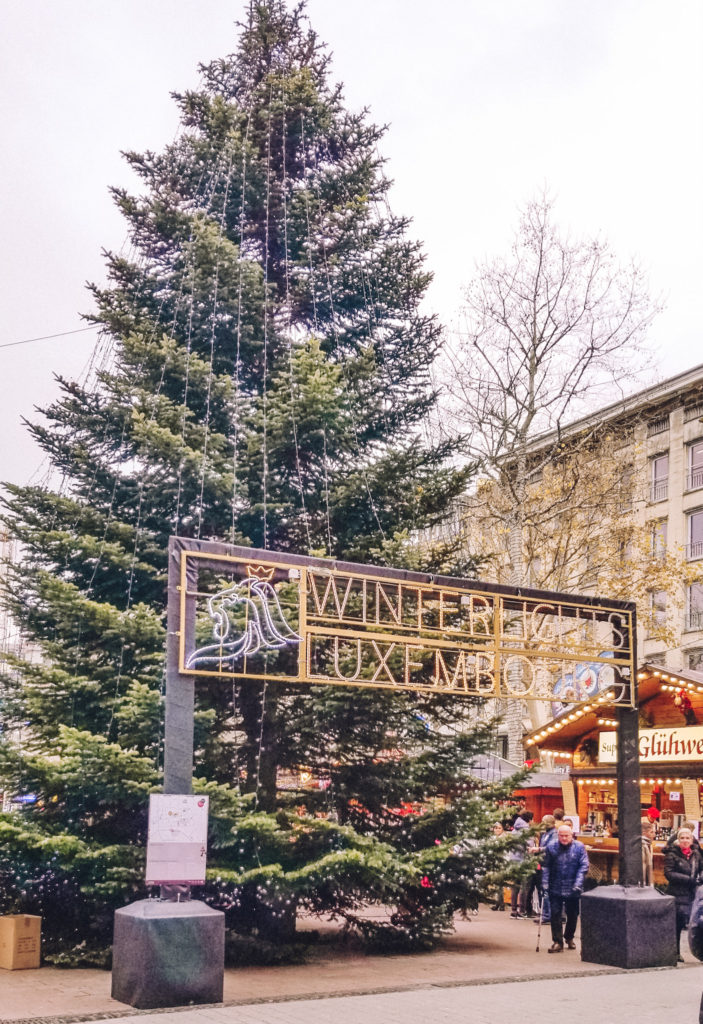 Christmas Market in Luxembourg City