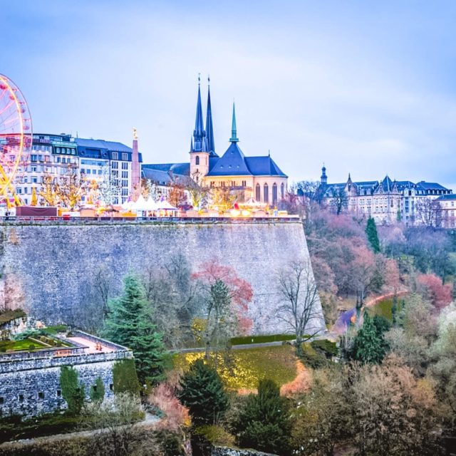 Luxembourg Christmas Market