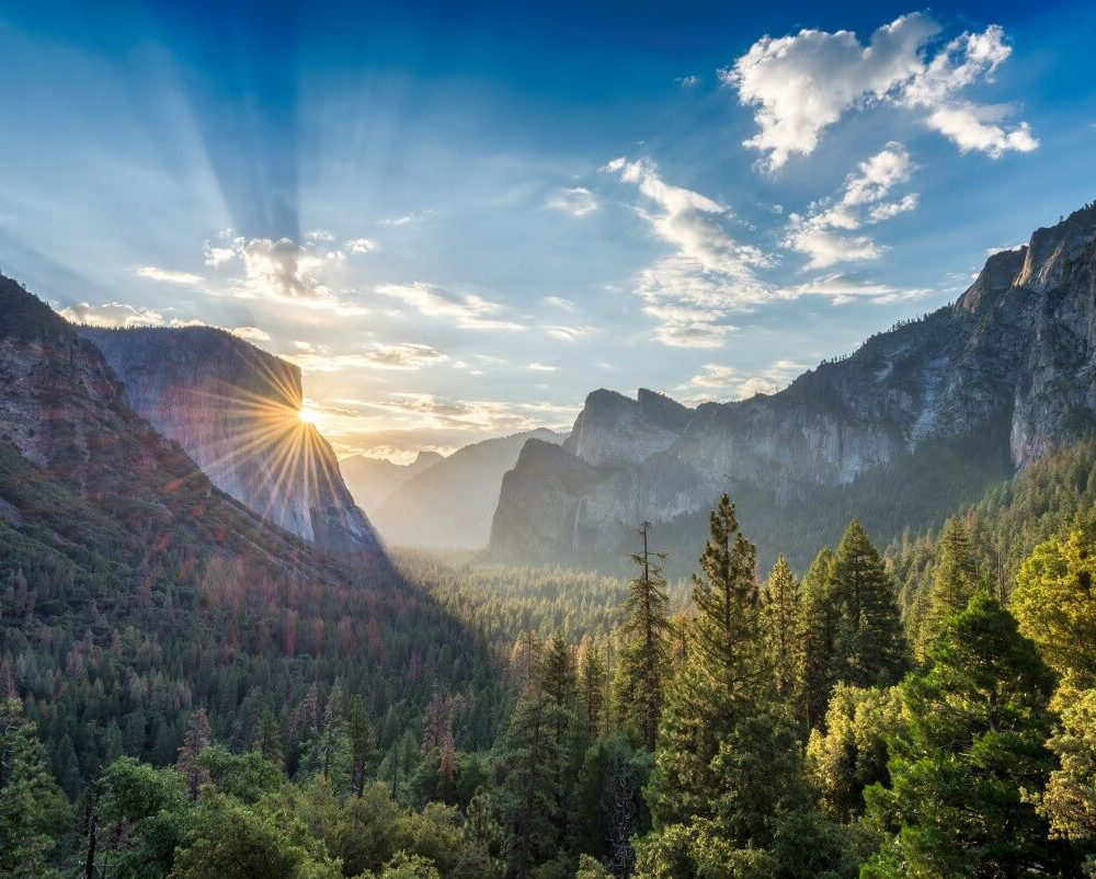 Tunnel View Sunrise