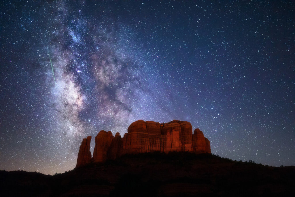 Night Sky in Sedona