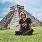 Eden Fite at Chichen Itza in 2020