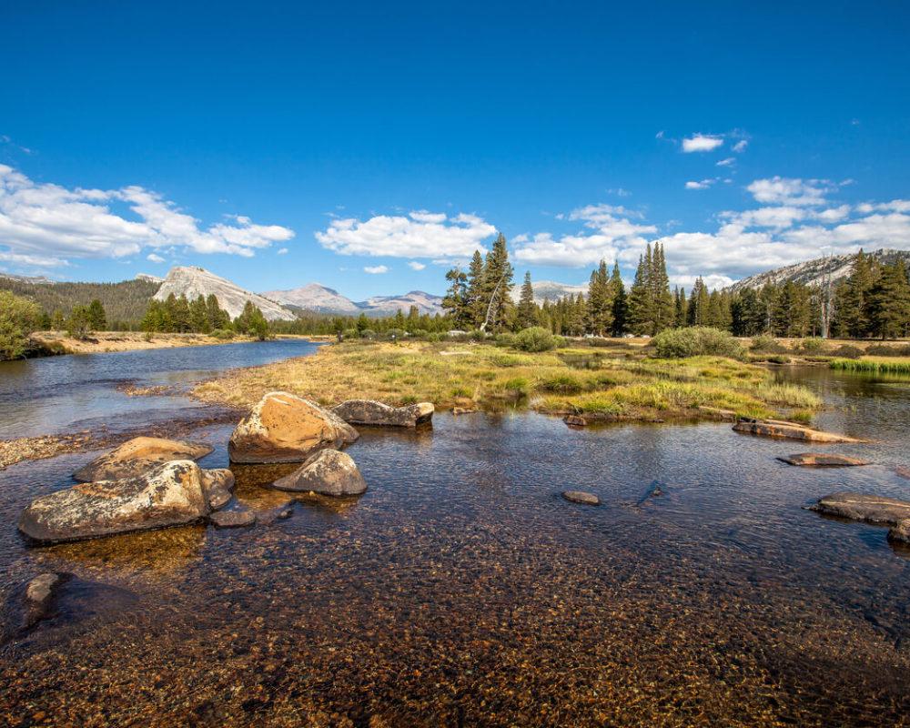 Visiting Yosemite - Tuolumne Meadows