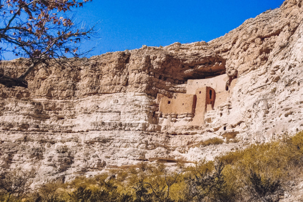 Montezuma Castle National Monument - Sedona az to phoenix az road trip stops