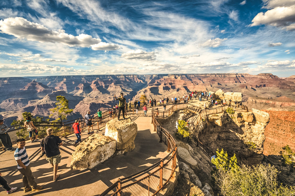 Mather Point Lookout Grand Canyon