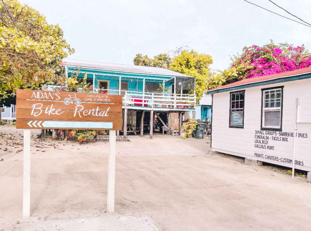 Bike Rental in Caye Caulker