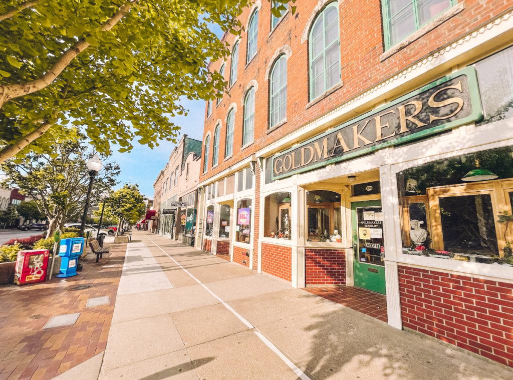 Mass Street Lawrence Kansas
