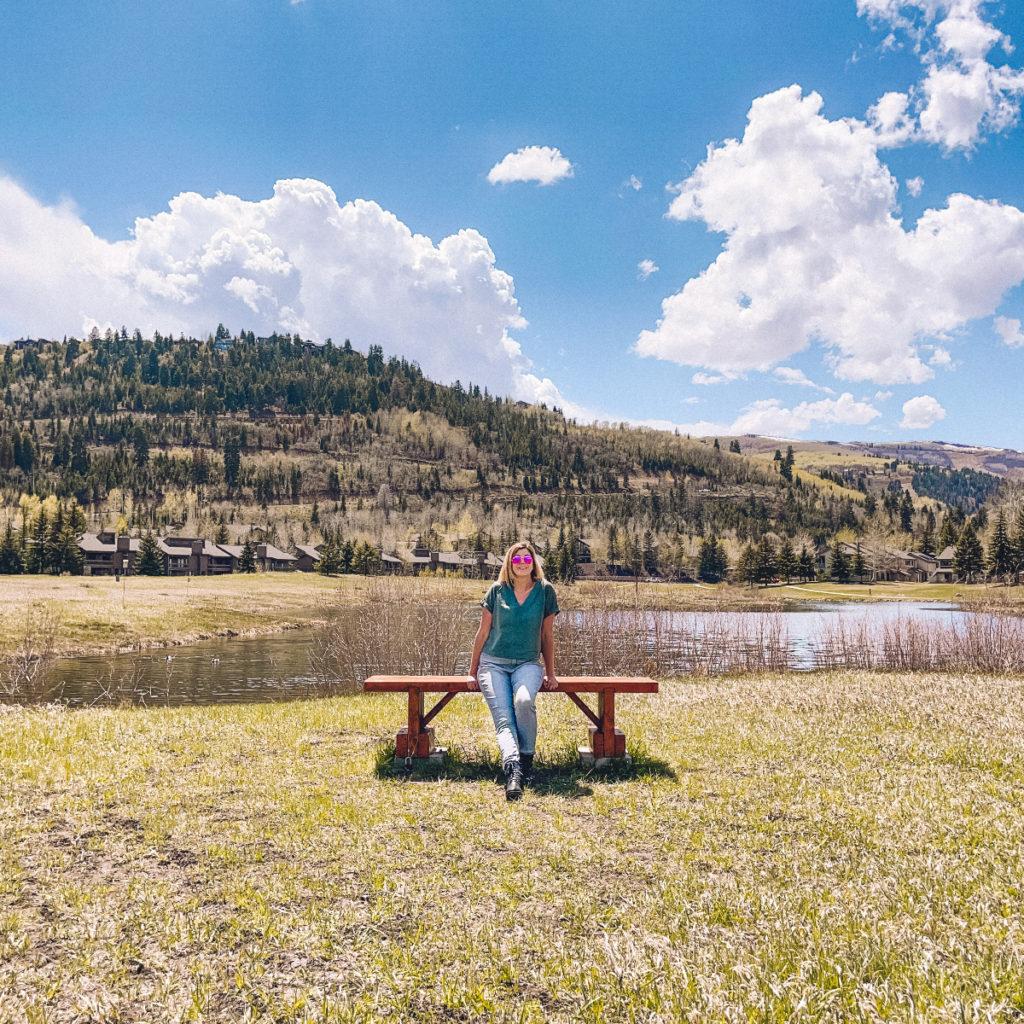 Deer Pond in Park City Utah
